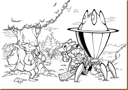 Geronimo Stilton - Pinta y colorea 4