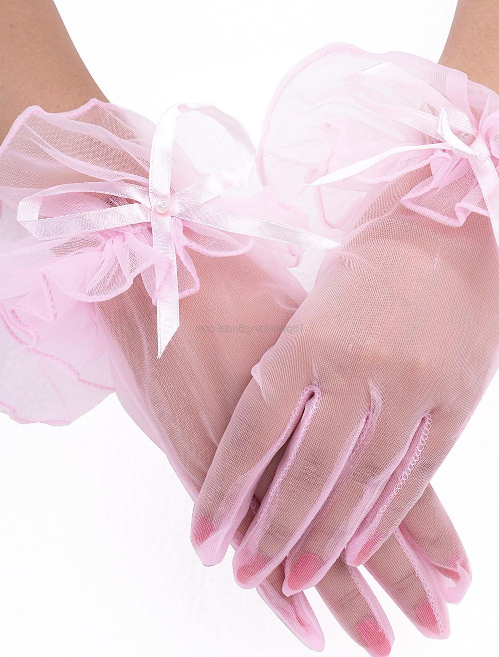 Wedding Short Gloves For
