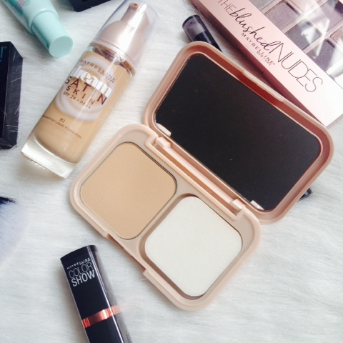 Maybelline Dream Satin Skin Foundation and Two Way Cake