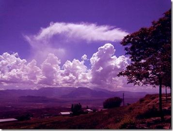 Nubes desde el Paseo de las Murallas