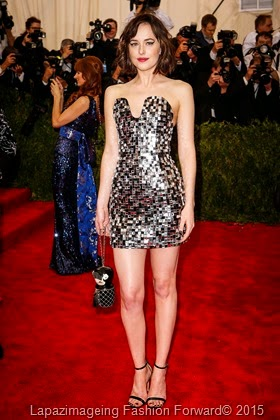 Dakota Johnson in Chanel Haute Couture