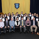 at the Mulroy College Senior Prize Giving.  Photo:- Clive Wasson