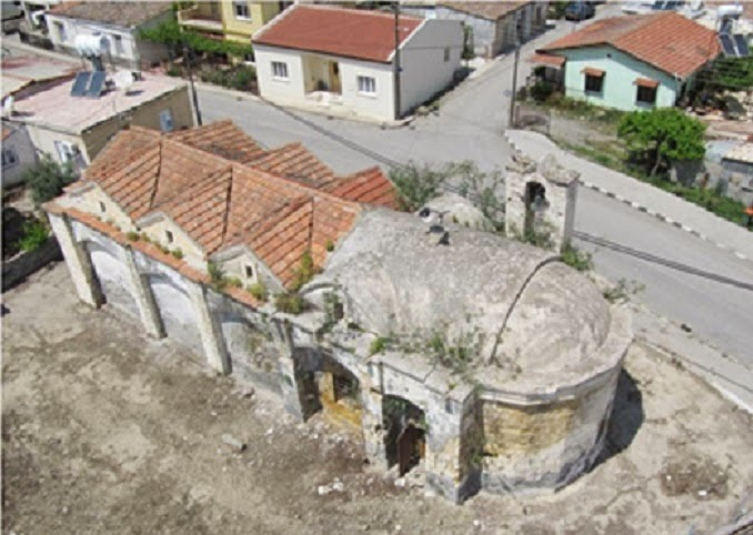 Church in occupied Cyprus saved from total collapse