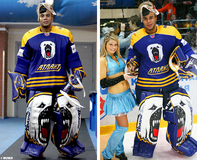 щитки вратарские хоккейные
