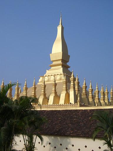 Laos, Vientiane - Pha That