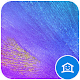 Vivid Blue feather theme
