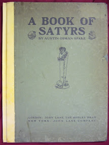 Cover of Austin Osman Spare's Book A Book Of Satyrs