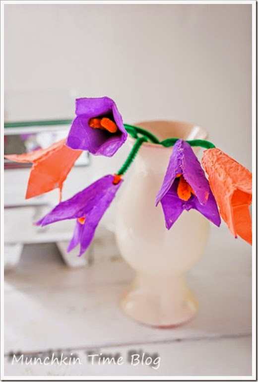 Recycled-Craft-for-Kids-Egg-Carton-Spring-Tulips-12