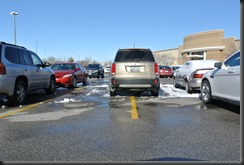 Awesome Winter Parking in Iowa....