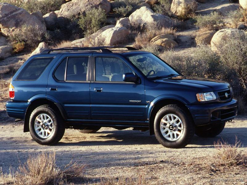 2001 honda passport suv specifications  pictures  prices