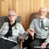 Echtpaar Hulshof uit Oude Pekela 60 jaar getrouwd - Foto's Simon Koster