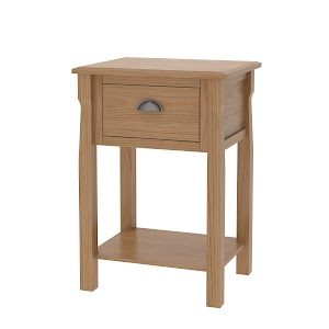 catalina nightstand with shelf