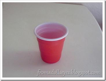 Tiny Plastic Cup