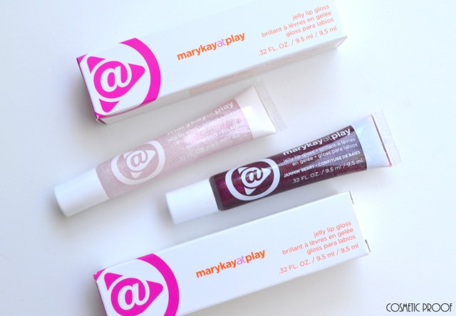 MAKEUP | Mary Kay at Play Jelly Lip Gloss in Jammin? Berry and Glow With It Swatches & Review