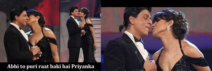 priyanka shahrukh affair