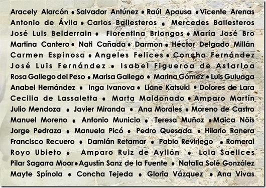 ARTISTISTAS INVITADAS PARA: DIALOGO CON LA NATURALEZA PRO ARTE Y CULTURA  Reverso (2)