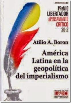 Boron - cover of América Latina en la geopolítica del imperialismo