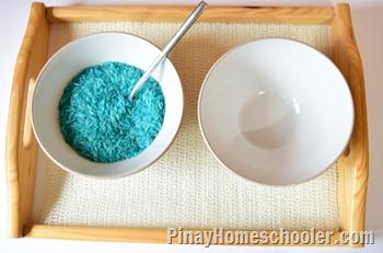 Spooning Rice