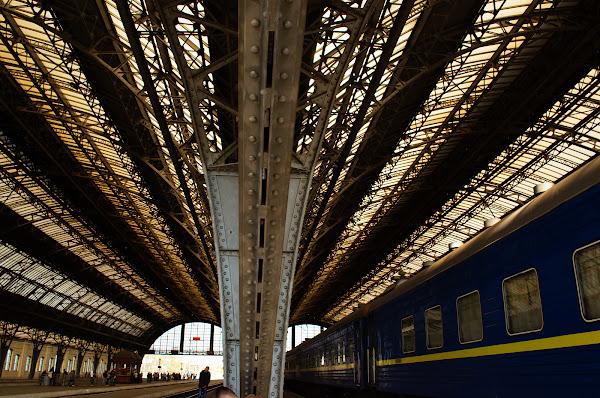 вокзал львов перрон поезд