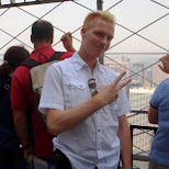 matt on the ESB in New York City, New York, United States