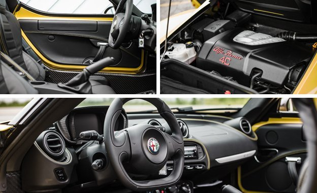 2015 Alfa Romeo 4C Spider review launch edition top speed price specs sport coupe interior engine dimensions Car Price Concept