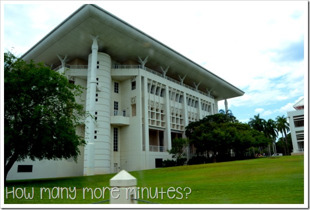 NT Parliament House | How Many More Minutes?