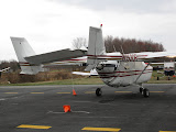 Cessna Skymaster that was also damaged by N41568 - 02
