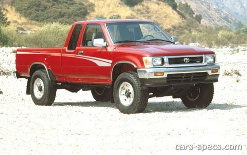 1990 toyota pickup extended cab specifications pictures prices. Black Bedroom Furniture Sets. Home Design Ideas
