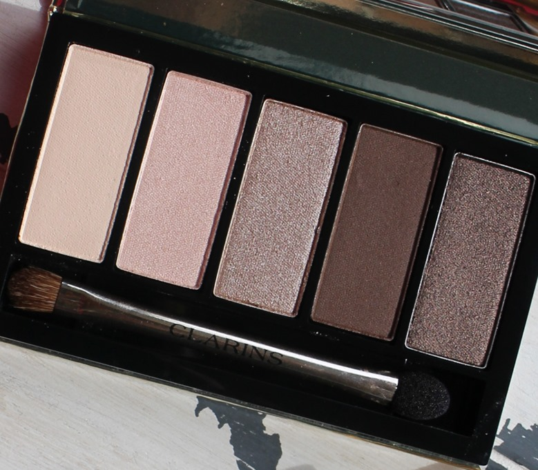Clarins-01-Pretty-Day-Palette-5-Couleurs-Eyeshadow-Palette