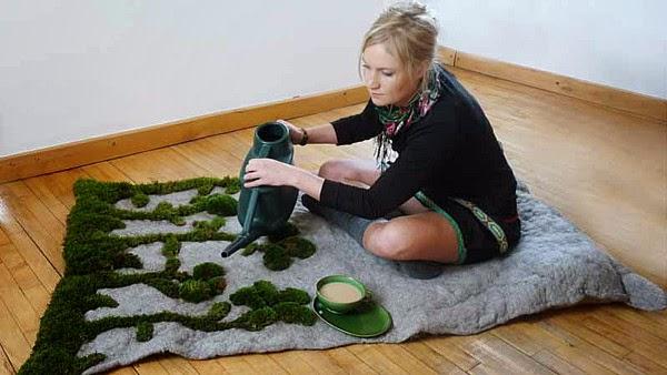 deko moos selber machen 18 au ergew hnliche diy ideen mit. Black Bedroom Furniture Sets. Home Design Ideas