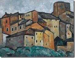 Alexander_Kanoldt_San_Gimignano_Studie_1913