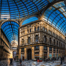 Galeria Umberto I by Krasimir Lazarov - Buildings & Architecture Public & Historical ( public, naples, italy, building, gallery, architecture )