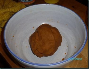tarta de cerezas silvestres y gofio4 copia