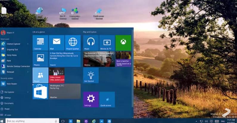 Todas las novedades en Windows 10