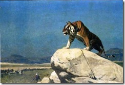 jean-leon-gerome-jean-leon-gerome-tiger-on-the-watch-23783