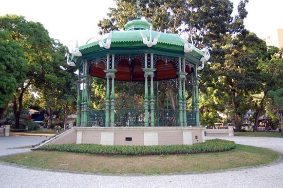 Gazebo Praça Batista Campos - Belém do Parà, foto: http://www.engetower.com/