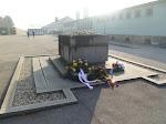 A memorial at Mauthausen
