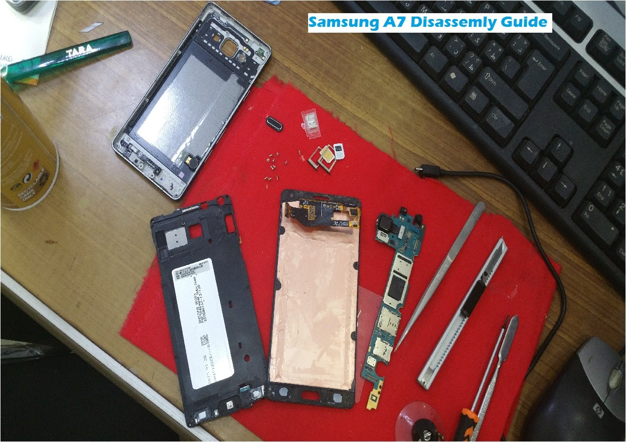 Image of Watch: Samsung A7 Teardown (Disassembly Guide)