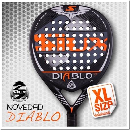 Nueva pala SIUX Diablo versión XL.
