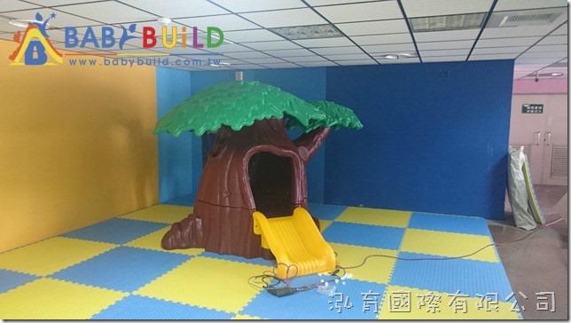 魔法樹溜滑梯