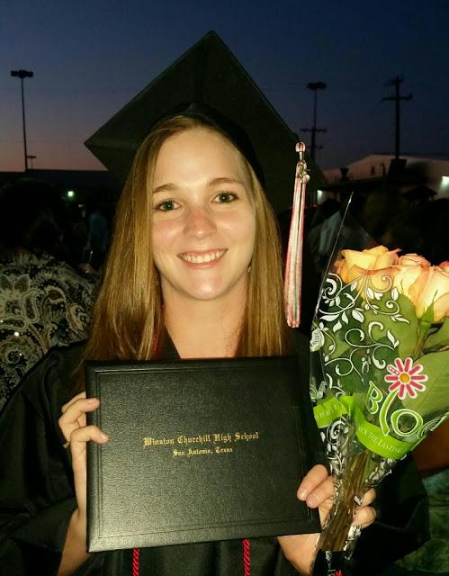 Cassidy at Graduation
