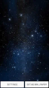 Galaxy 3D Live Wallpaper HD - screenshot