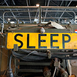 SLEEP before you get hit Dutch National Military Museum Soesterberg in Soest, Utrecht, Netherlands