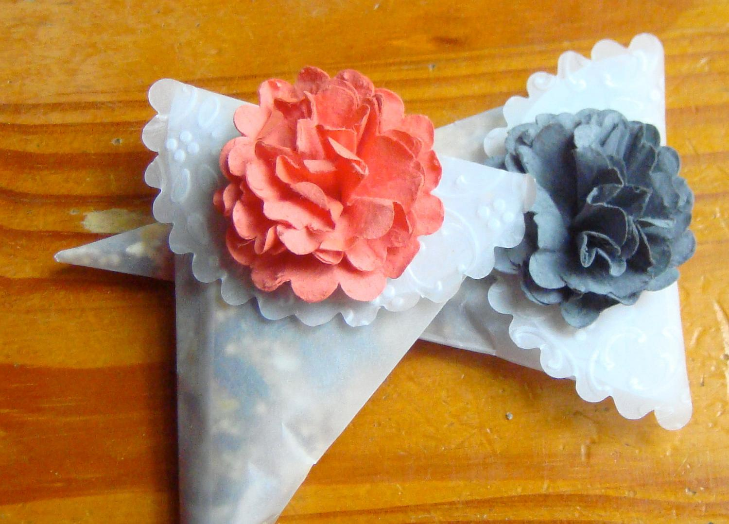 Custom Order 50 gray Wedding Favor Cones, perfect to hold bird seed or rose