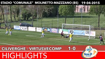 Ciliverghe - VirtusVecomp - Highlights del 19-04-2015