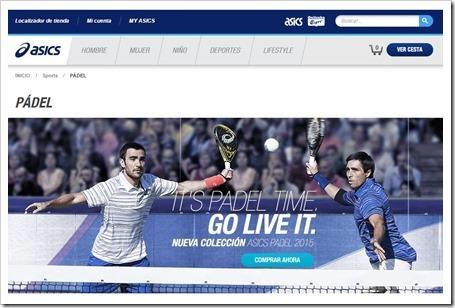 Visita la WEB Oficial de la marca ASICS