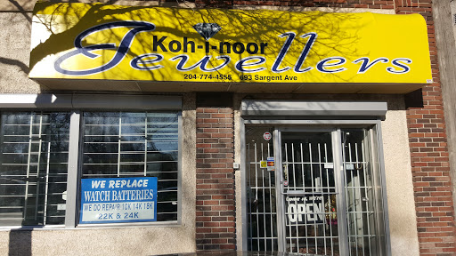 Kohinoor Jewellers, 693 Sargent Ave, Winnipeg, MB R3E 0A8, Canada, Jeweler, state Manitoba