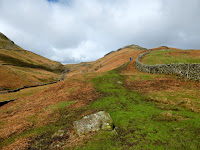 The start of the path to Steel Fell