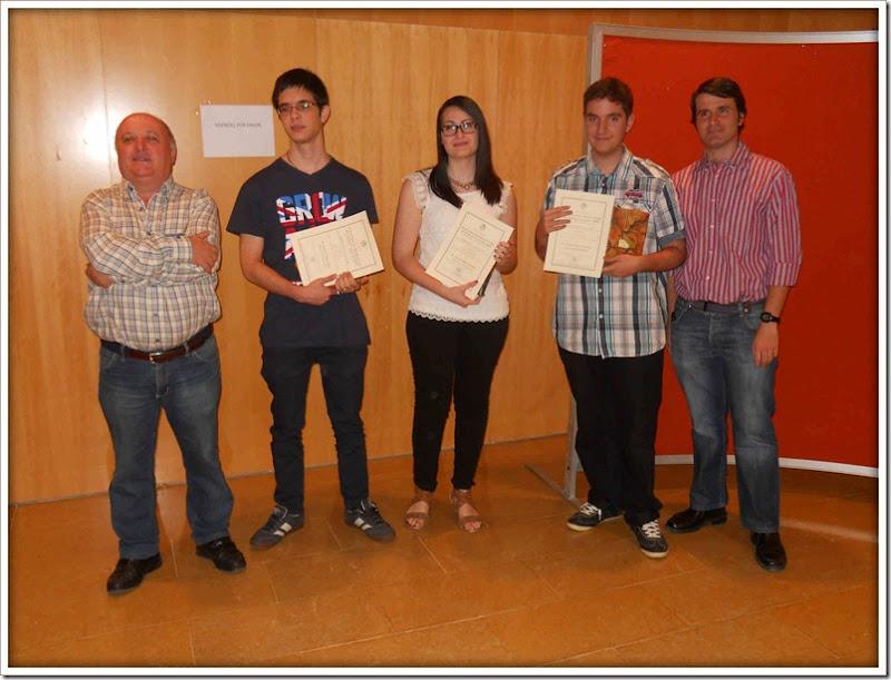Premios Concurso Traducción 2015