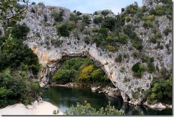 Le Pont d'Arc : impressionnant !!!